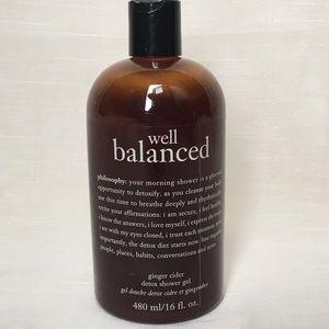 Philosophy Well Balanced Shower Gel